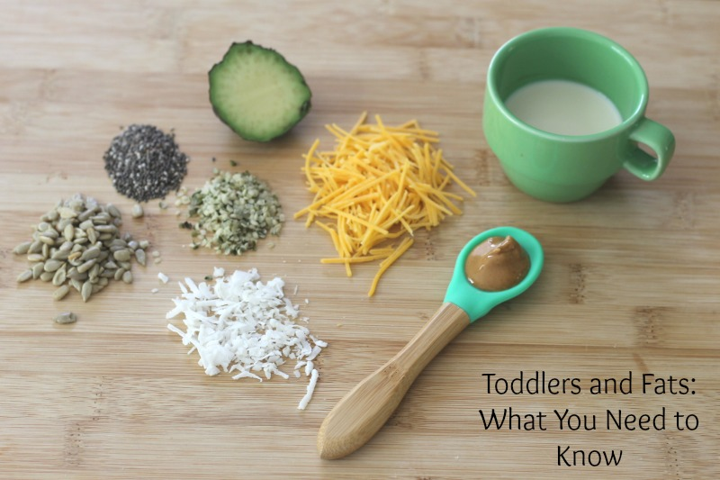 What you need to know about toddlers and fats