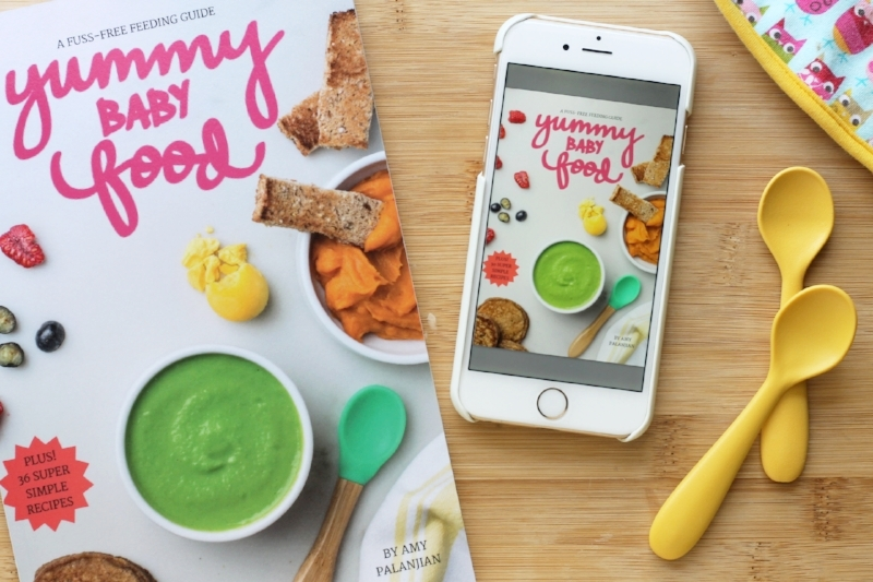 Yummy Baby Food ebook:  A fuss-free feeding guide