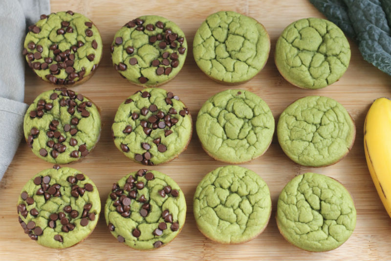 Super Green Muffins for Toddlers (and everyone else at the table!)