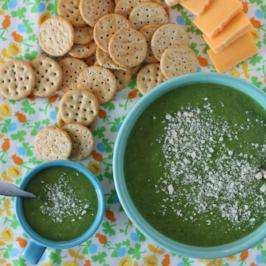 Broccoli Pea Soup