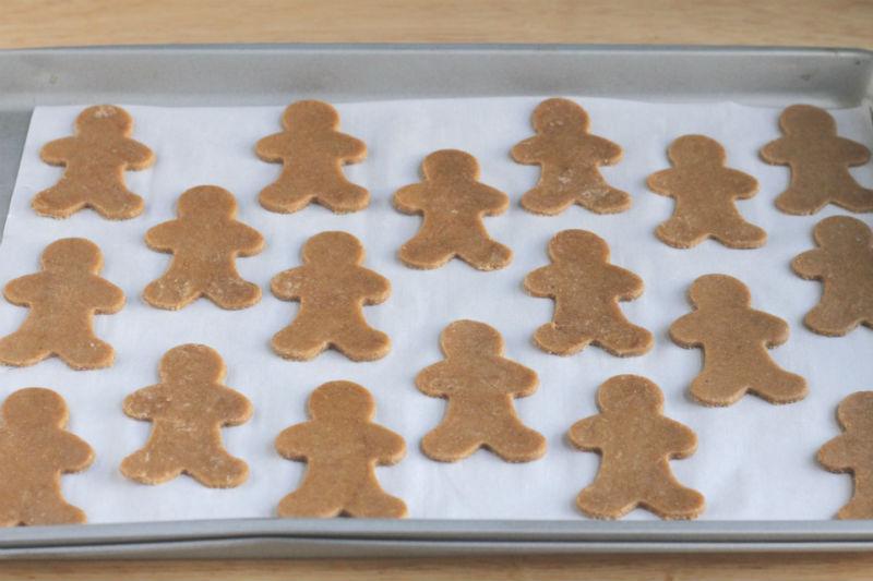 Lower Sugar Gingerbread Cookie Dough