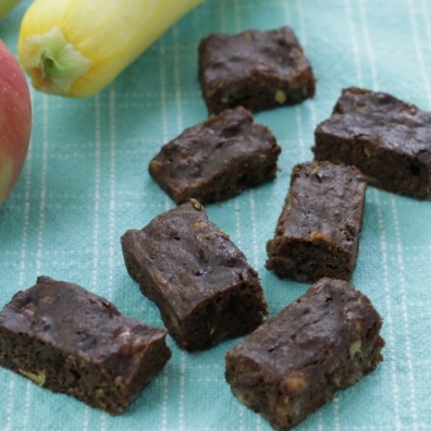 Produce-Packed Brownies