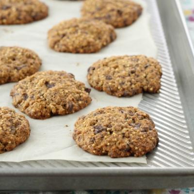 3-Grain Choc Chip Cookies