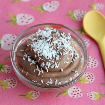 Cocoa Coconut Pudding