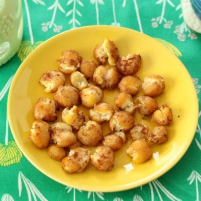Soft Baked Cinnamon Chickpeas