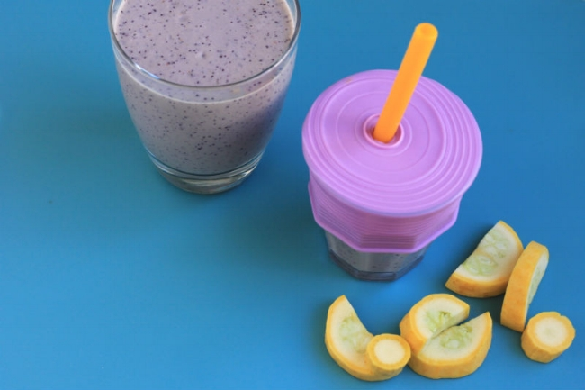 Sneaky Squash Smoothie Toddlers Will Love