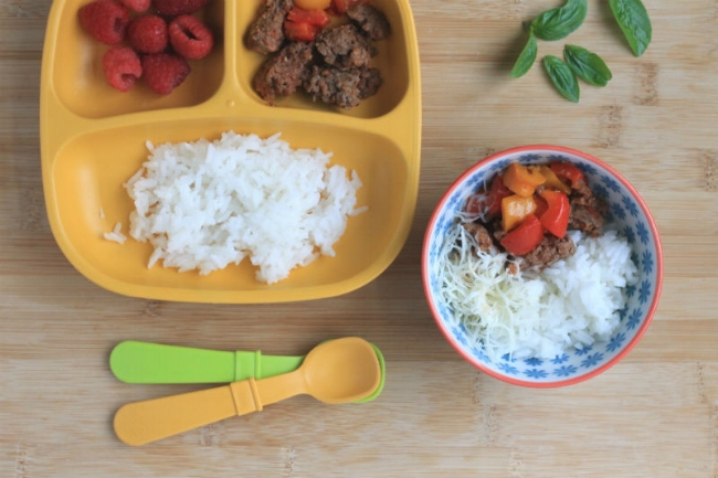 Quick and Easy Yummy Family Food: Unstuffed Peppers