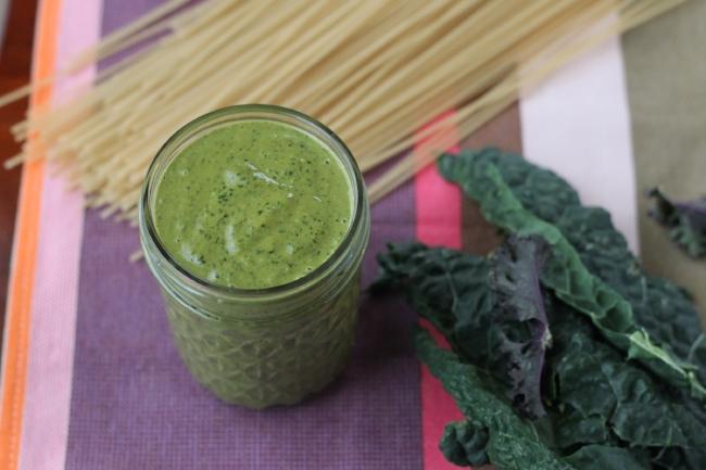 peanut sauce with kale (via yummytoddlerfood.com)