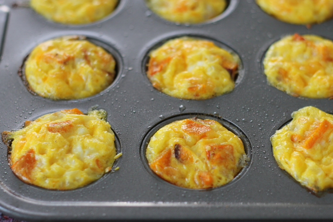 Mini Egg and Cheese Muffins with Squash (via yummytoddlerfood.com)