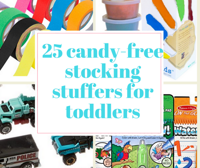 Best candy-free stocking stuffer ideas for toddlers