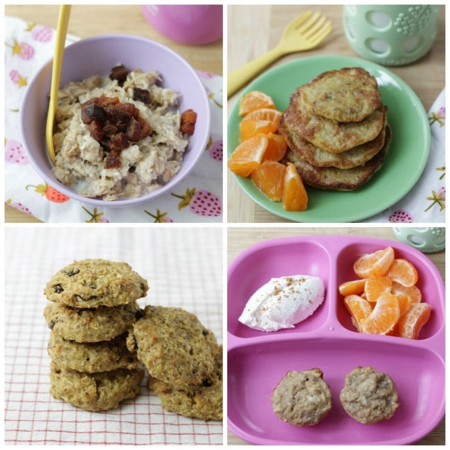 15 Ways with Oatmeal (including ideas for leftovers) via yummytoddlerfood.com