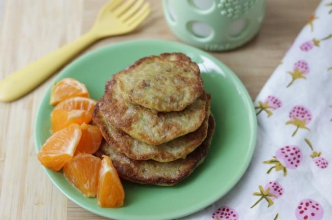 3-Ingredient Oatmeal Pancakes