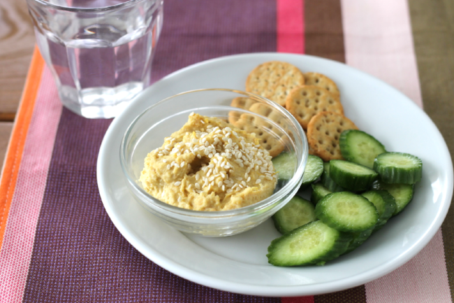 Butternut Squash Hummus via yummytoddlerfood.com.jpg