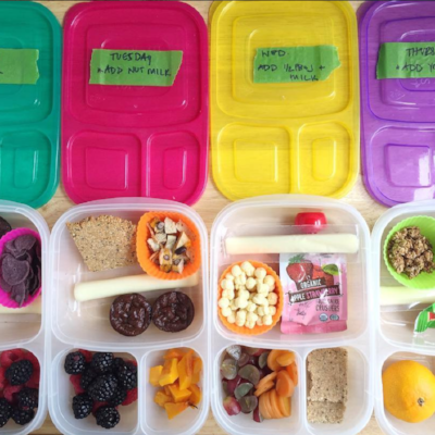 7 Lunches for 1 Year Olds