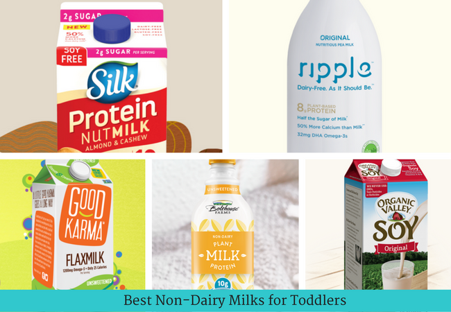 Best Non-diary Milks for Toddlers