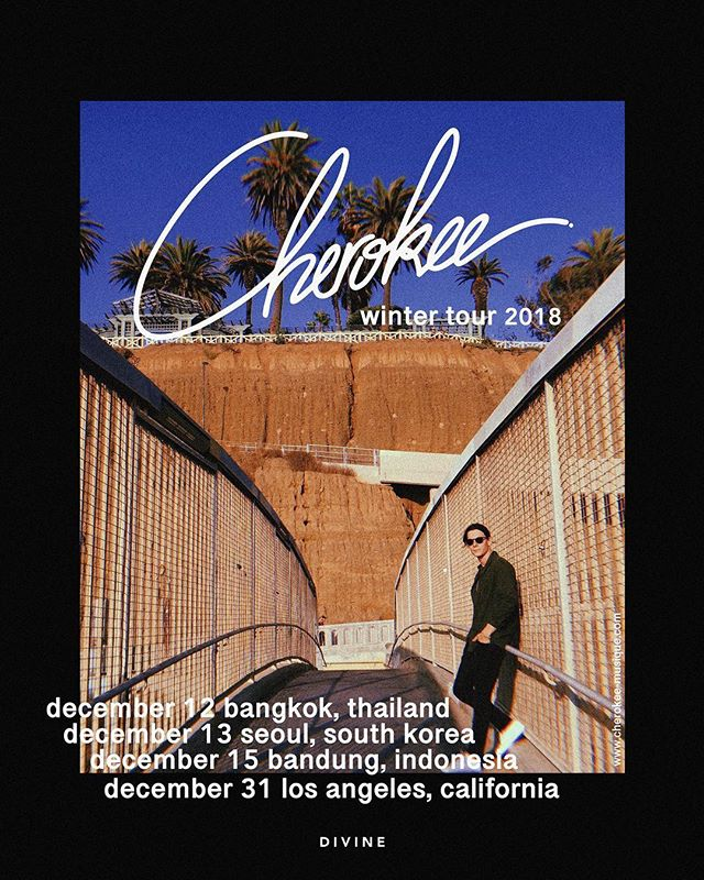 @cherokee_music is back on the road 🇨🇷🇰🇷🇮🇩🇺🇸