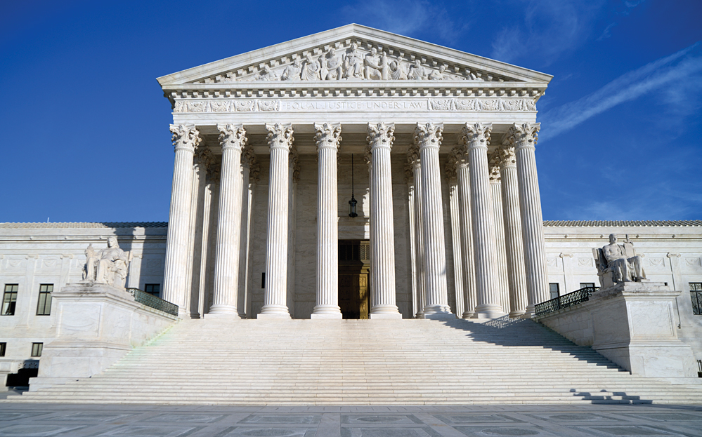 The Supreme Court Building  Photo by Mark Grouenhout