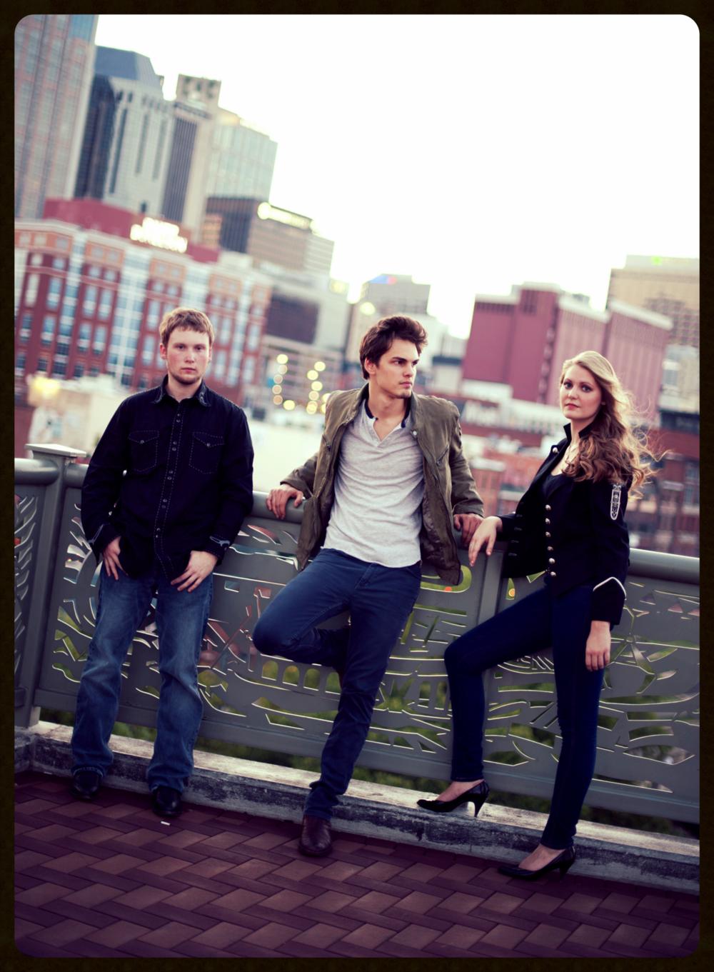 Kyle with Zach Ummer & Kayleigh Moyer, 2012