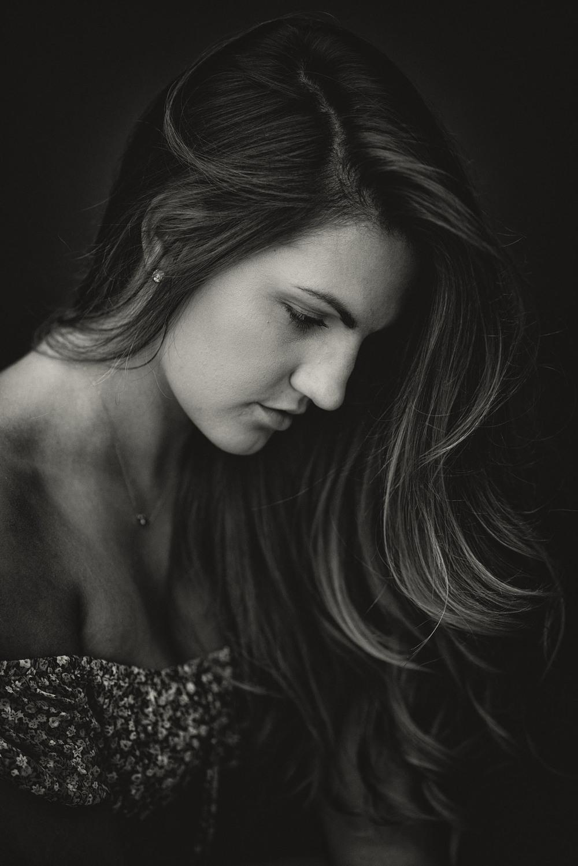 Moody portrait