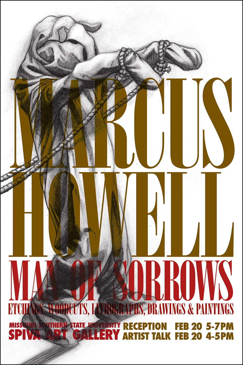 Marcus Howell, Man of Sorrows