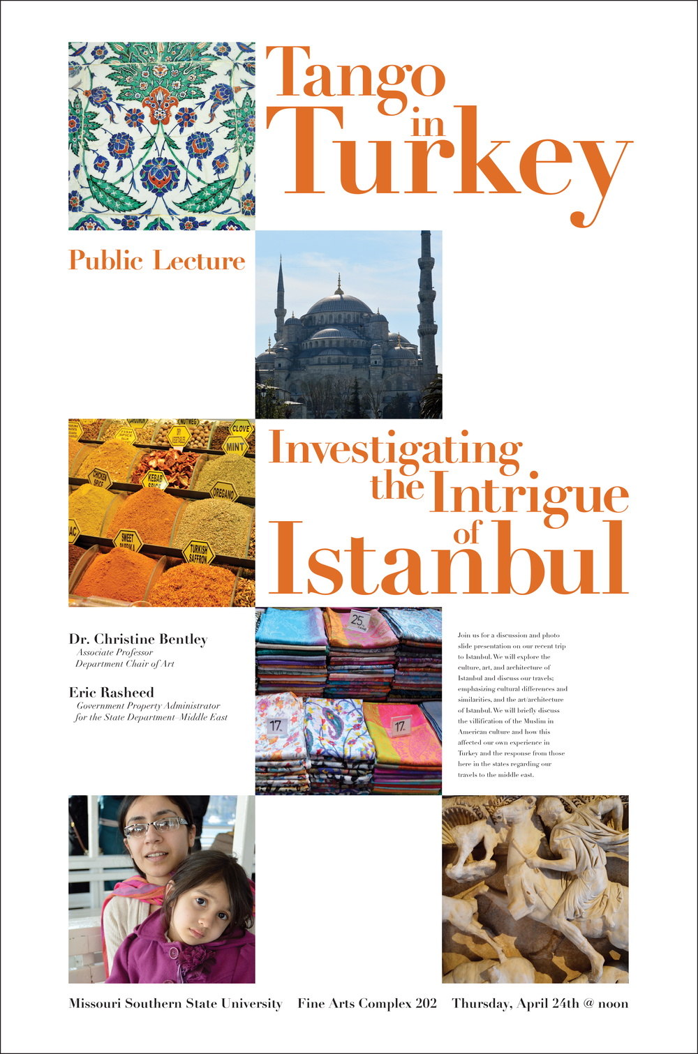 Tango In Turkey: Public Lecture 24x36