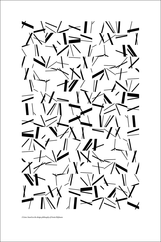 B&W Lines Step 1: 24x36
