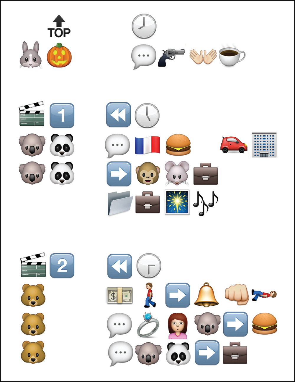 ART2373 Symbol Design - Emoji Narrative Detail 2: Joshua Johns