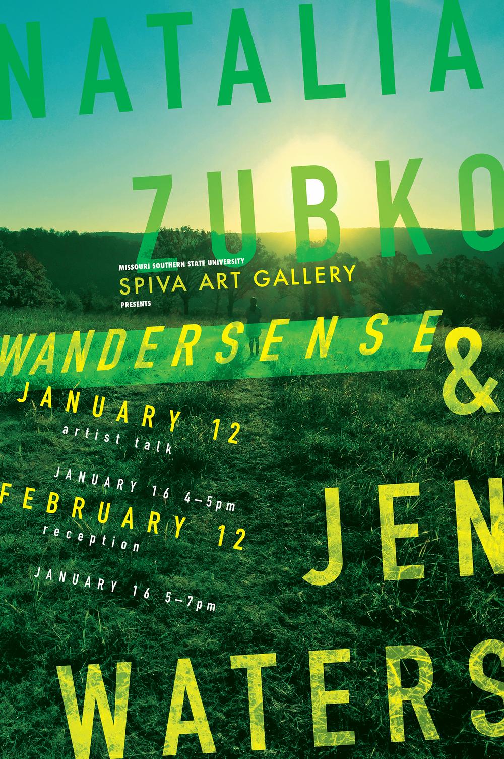 Natalia Zubko & Jen Waters, Wandersense