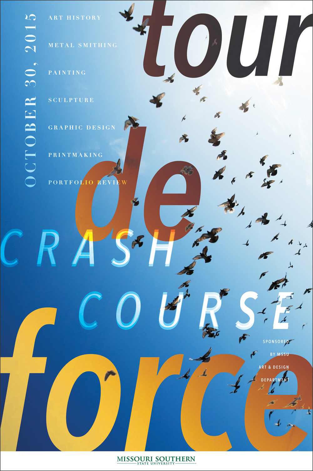 Tour de Force Crash Course 24x36