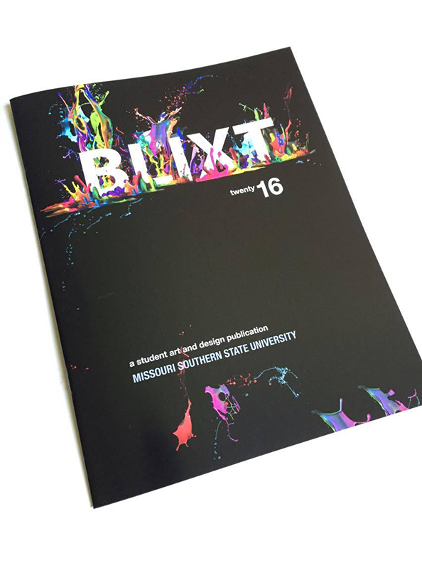 ART360 Publication & Layout - BLIXT 2016: Curt Rector