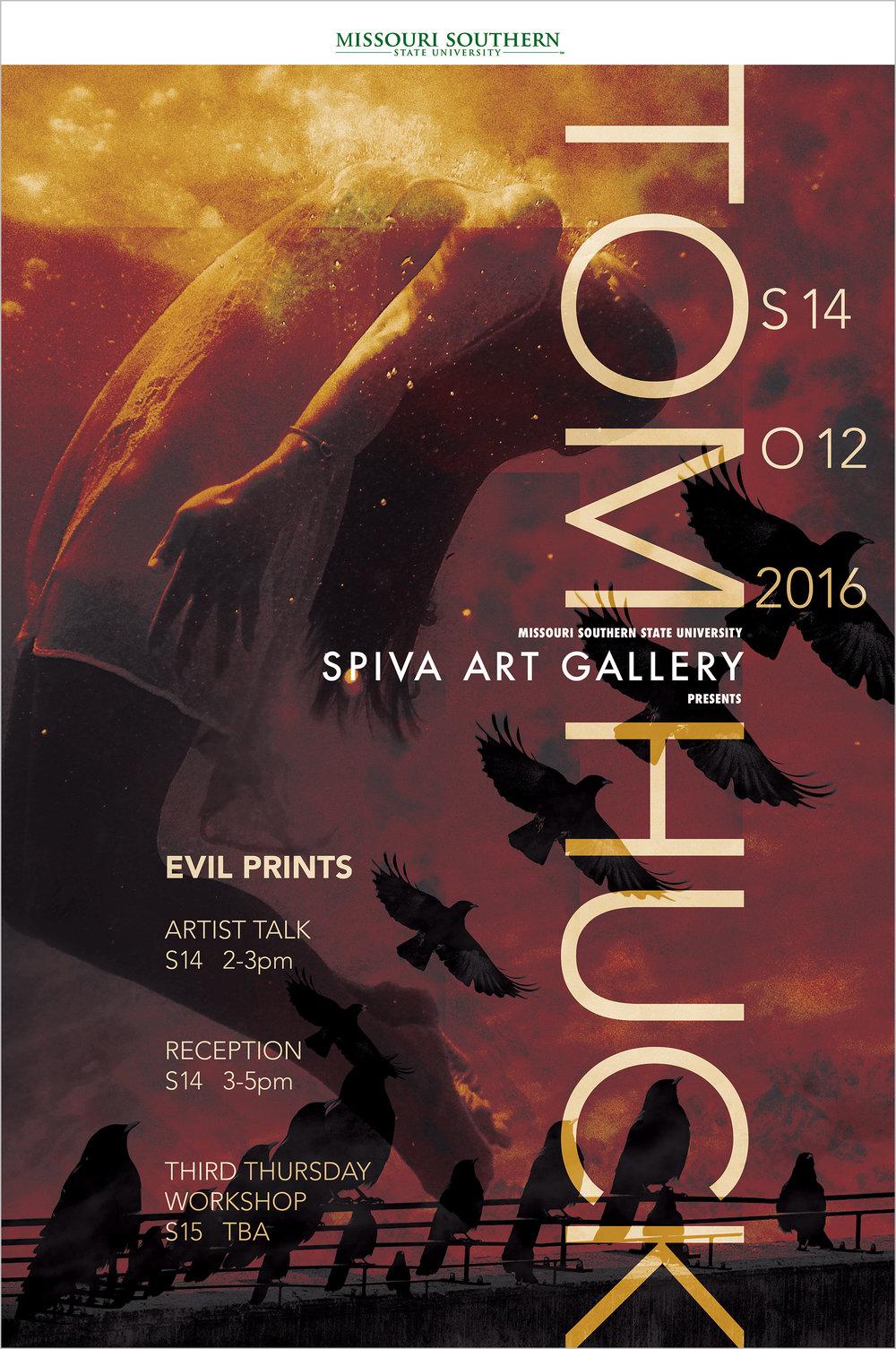 Tom Huck Evil Prints, 24x36