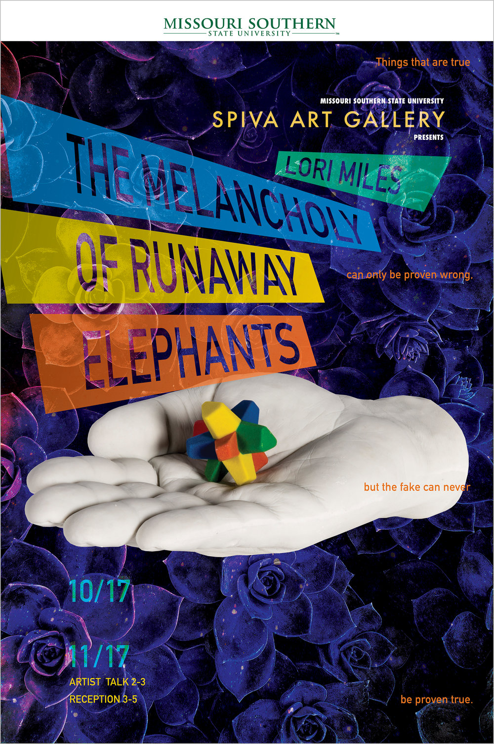 Lori Miles, The Melancholy of Runaway Elephants