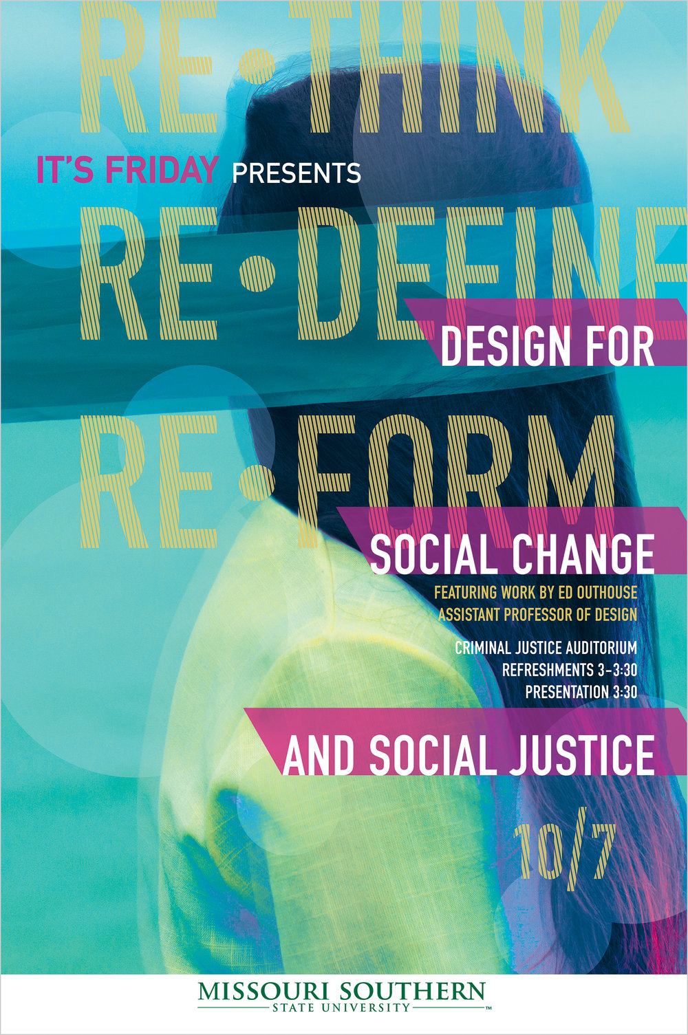 IT'S Friday: Design For Social Change 24x36