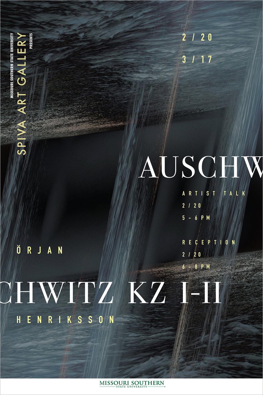 Orjan Henriksson, Auschwitz KZ I-II 24x36