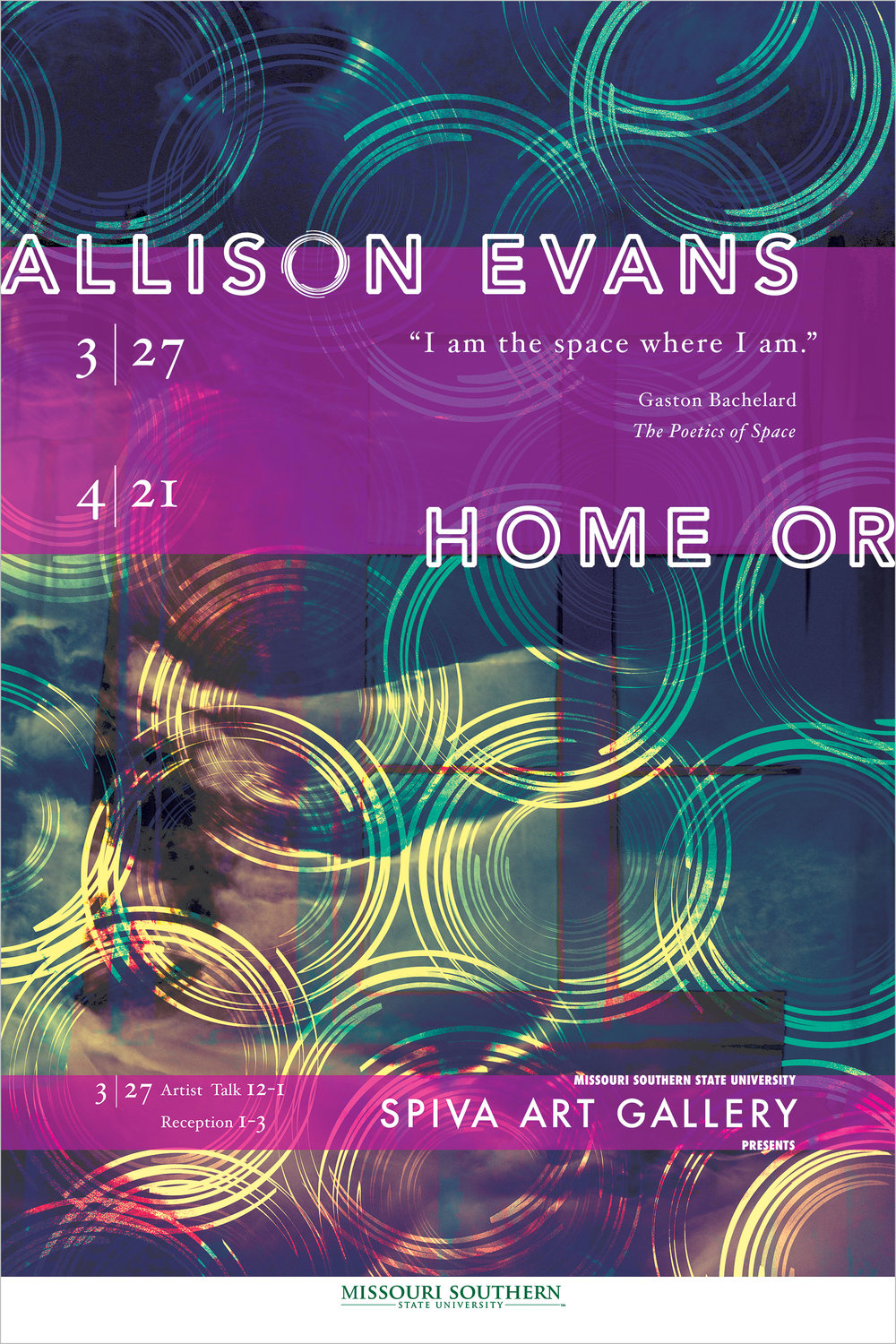 Allison Evans, Home Or 24x36