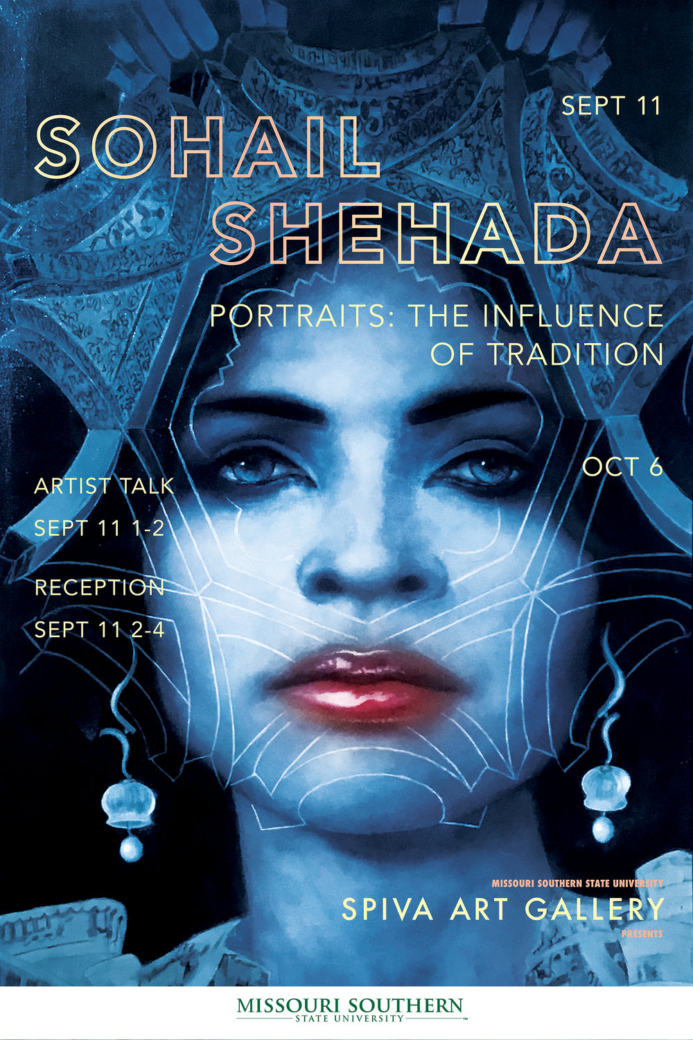 Sohail Shehada, Portraits: The Influence of Tradition