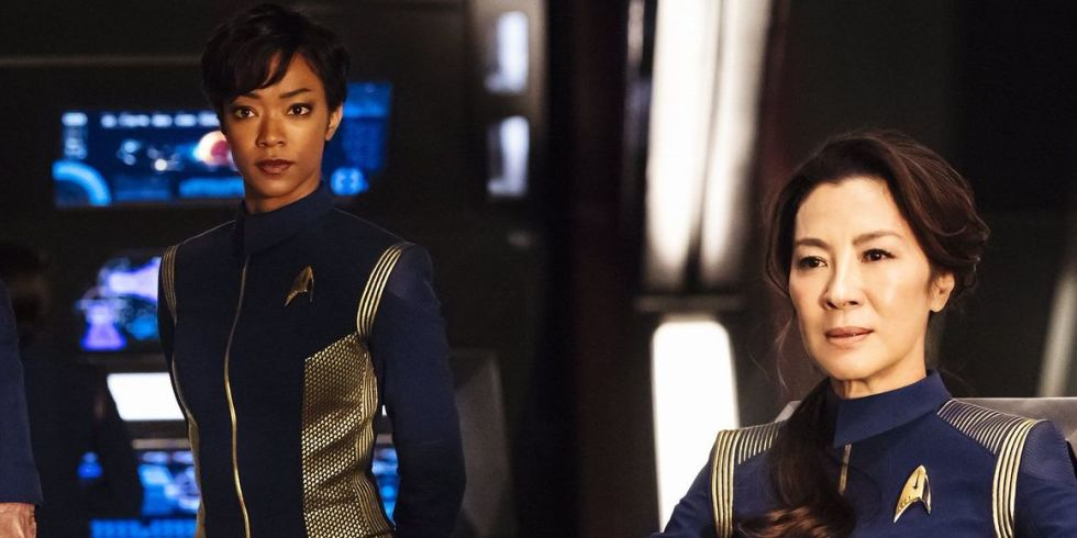 New Starfleet heroes from 'Star Trek: Discovery'