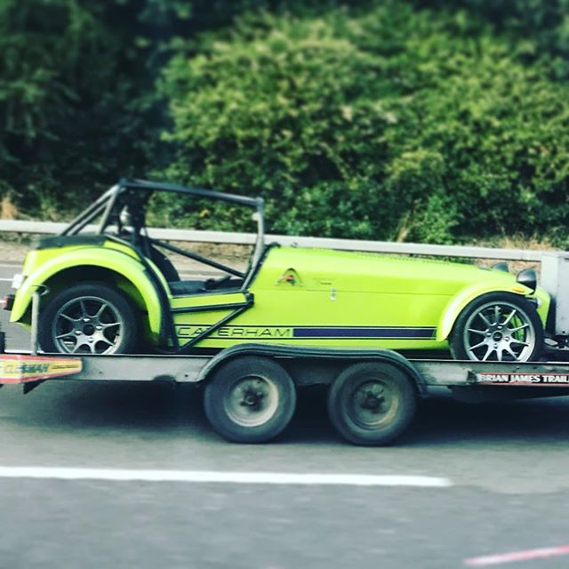 Yes please! There is everything to love about a #caterham race car. Like RaceYa, only bigger. 🤣 🏎🔧🏎🔧
