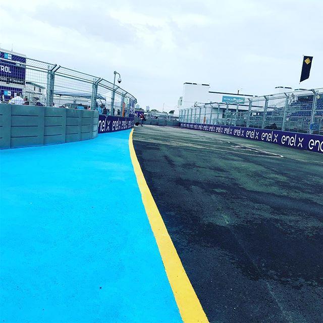 Track crossing @fiaformulae  #squadgoals