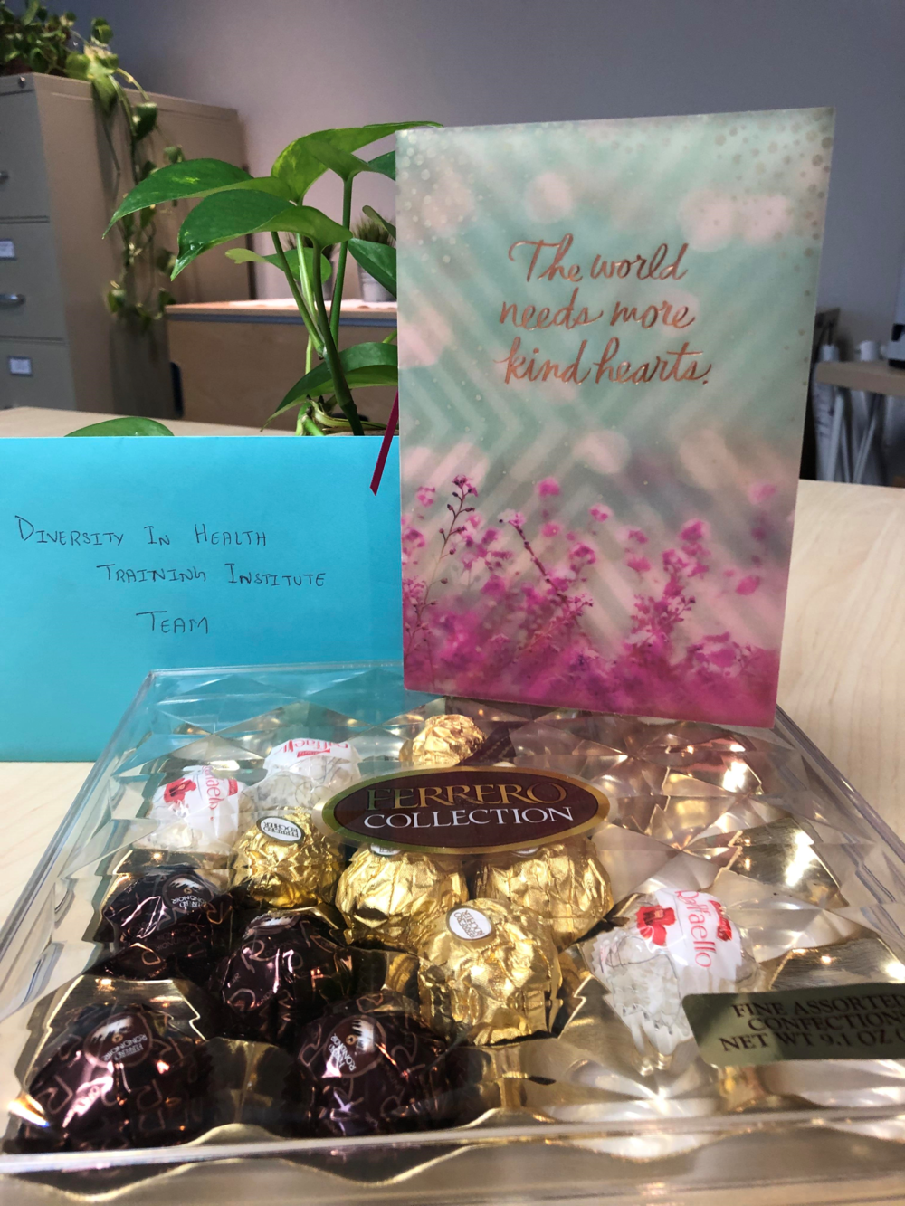 Thank you from DHTI Participant - DHTI is so appreciative and grateful for our participants who excel and reach their healthcare goals! Thank you Shrijana who completed the Nursing Program at Dominican University, passed the NCLEX exam and gifted us with her appreciation!