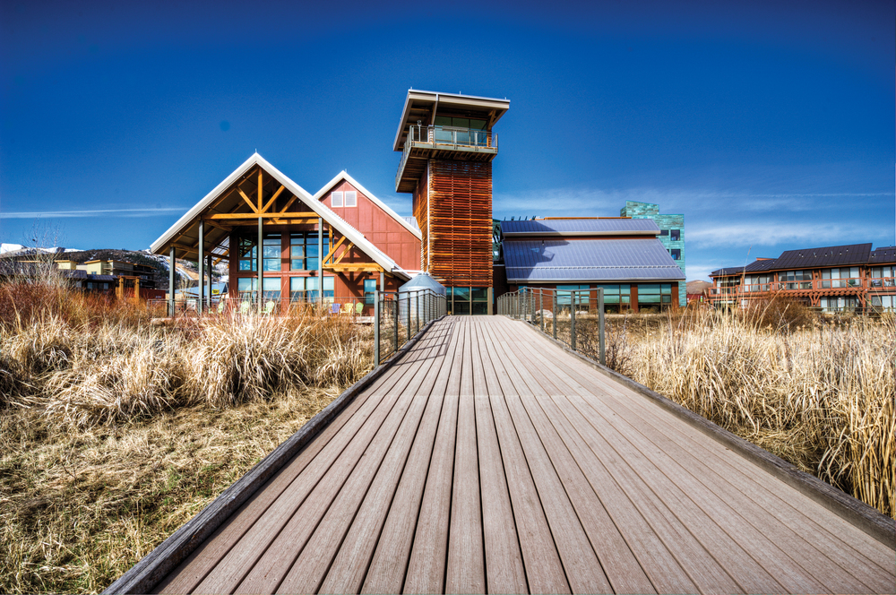 SITES-CERTIFIED Swaner Ecocenter•  Park City, UT • SustainableSites.org/Certified-Sites/Swaner