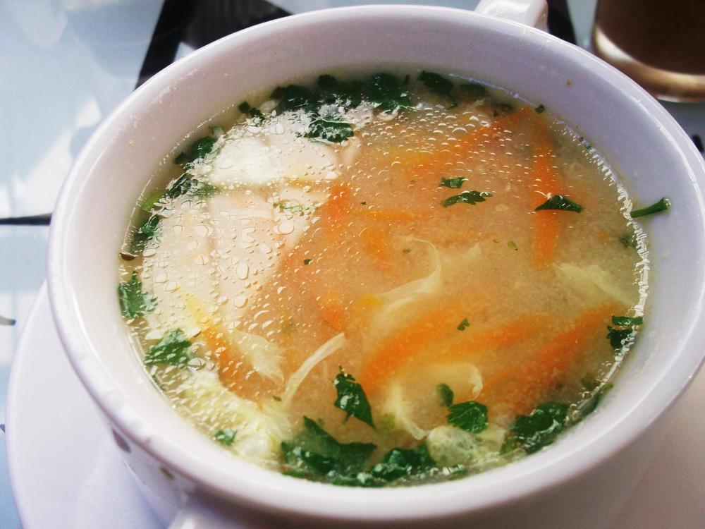 delicious bowl of soup