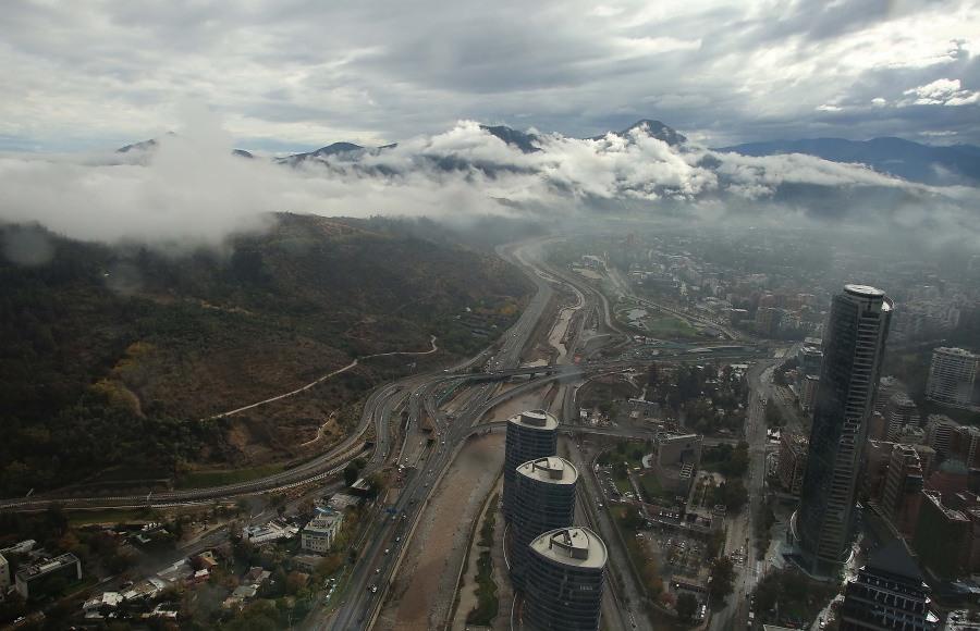 (4) Inundaciones en Santiago (17 Abr. 2016) © 24 Horas