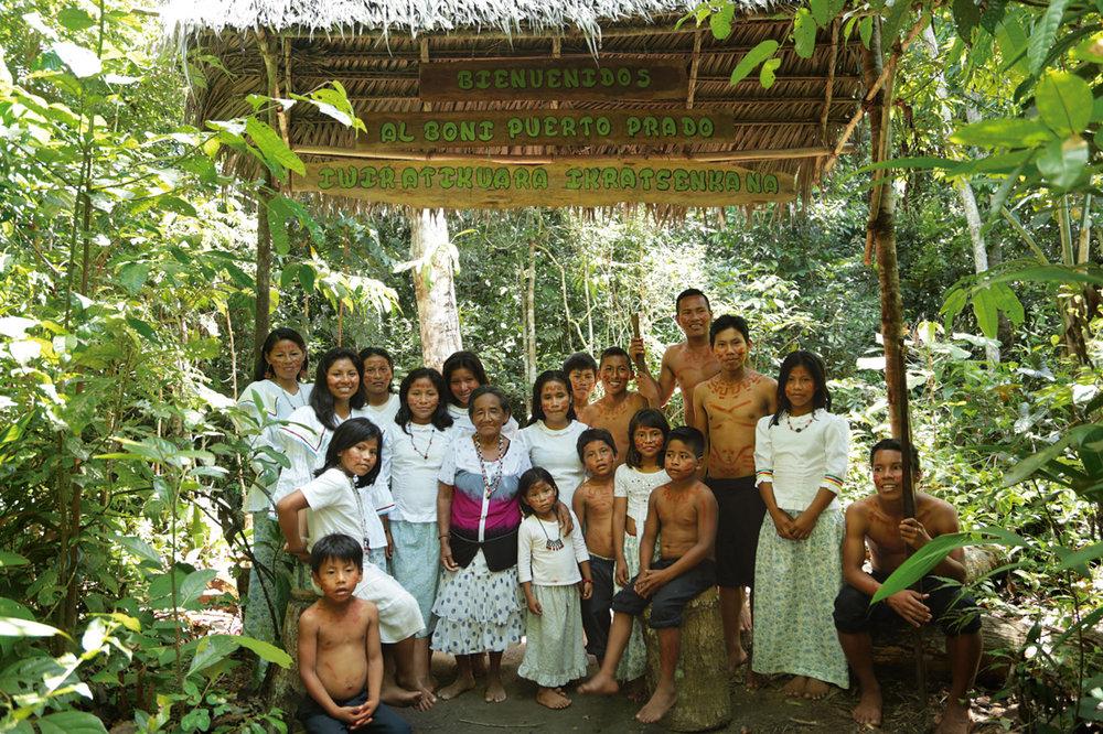 (4) Comunidad nativa de Puerto Prado, proyecto de Residencias conjunta de Fundación Mar Adentro y Conservamos Por Naturaleza ©Conservamos Por Naturaleza para  LOFscapes