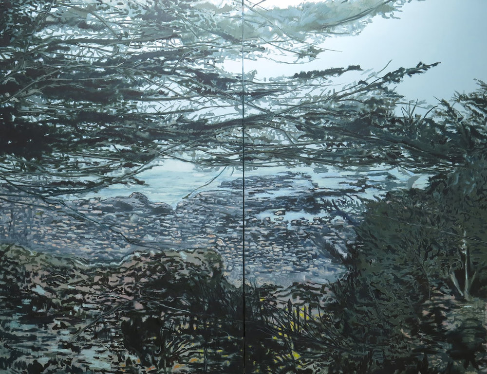 (7) Zapallar 7. Óleo sobre tela (180 X 260 cm) © Alejandro Quiroga para LOFscapes