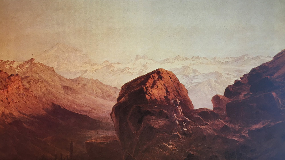 (1) Somerscales, Cordillera at Sunset (1885) © Colección privada