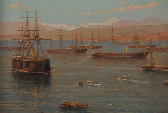 (3) Somerscales, The Chilean Squad (1889) © Colección privada