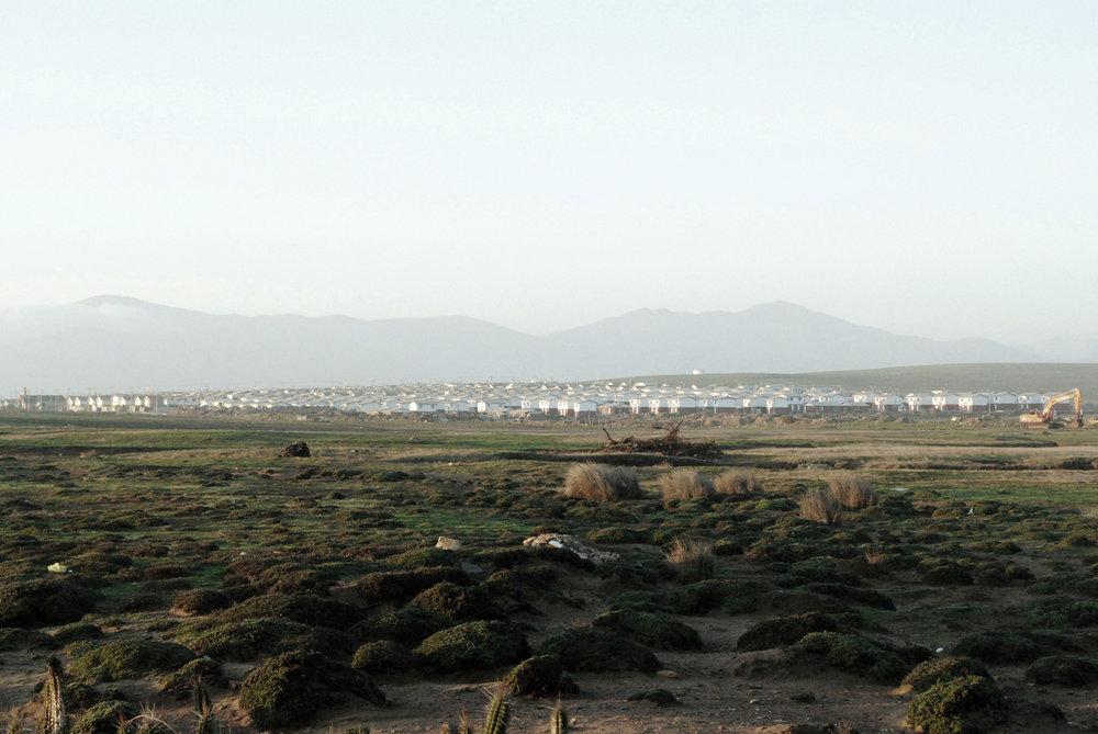 (4) Expansión urbana hacia unidades de paisaje © Maximiliano, Millan S. Para LOFscapes.