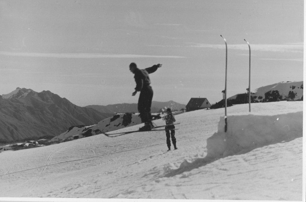 (1) Harry Benöhr,  Refugio Garganta del Diablo (1940)