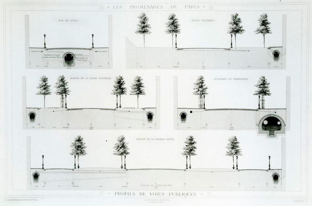 (1) Les Promenades de Paris, Alphand (1873) © artstor.org